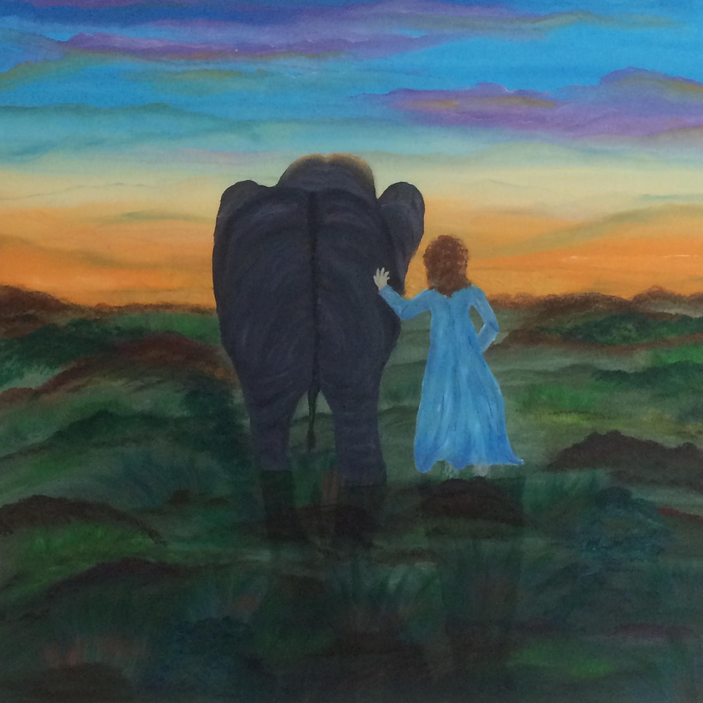 Schilderij door Therese